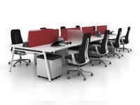 office workstation desk model