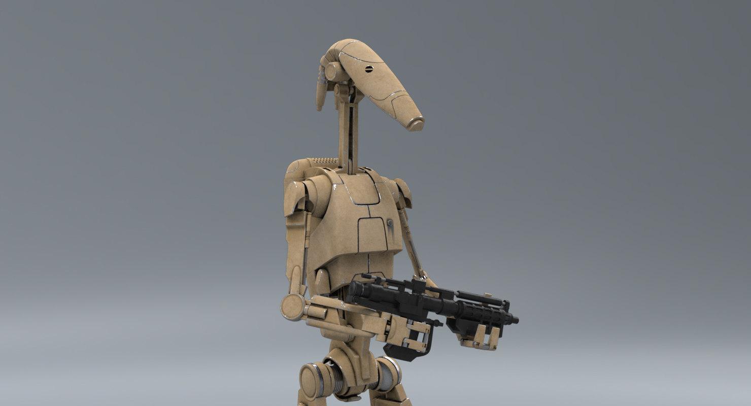 B1-78 'Clank' 3D-model-b1-battle-droid-rifle_0