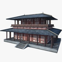 Chinese Palace Low Poly 9