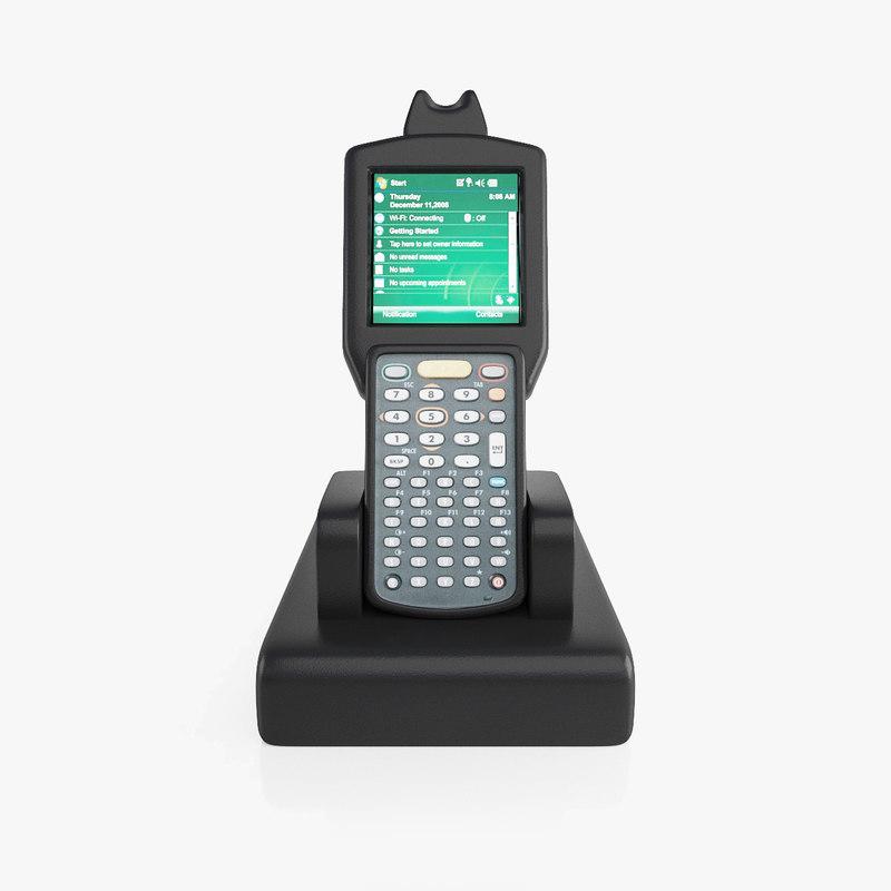 3D model barcode scanner