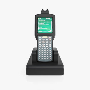 3D model barcode scanner