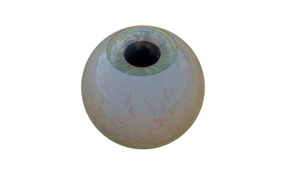 eyeball eye 3D