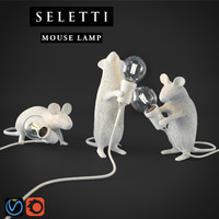 SELETTI Mouse Lamps