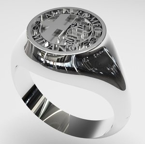 3D alfa romeo ring model