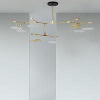 lindsey adelman pendant lamp 3D model