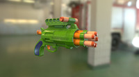 ready toy pistol 3D model