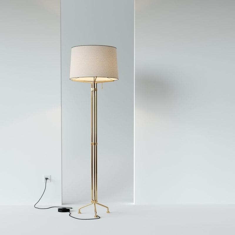 martel floor lamp 3D model