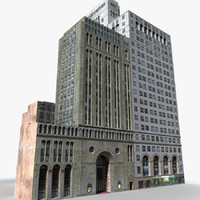 Manhattan Lexington Avenue Building 05 LOW_POLY