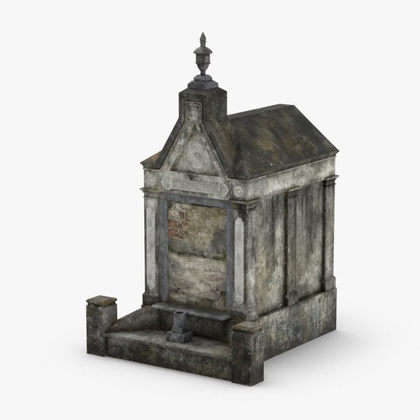 3D stone-tombs