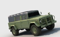 kia km 450 - 3D model