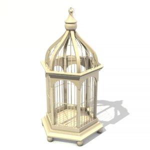 birdcage bird cage 3D model