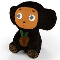 Cheburashka Toy (Fur)