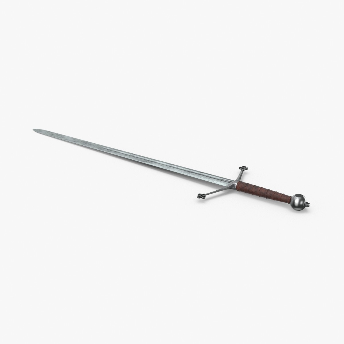 medieval-broadsword 3D model