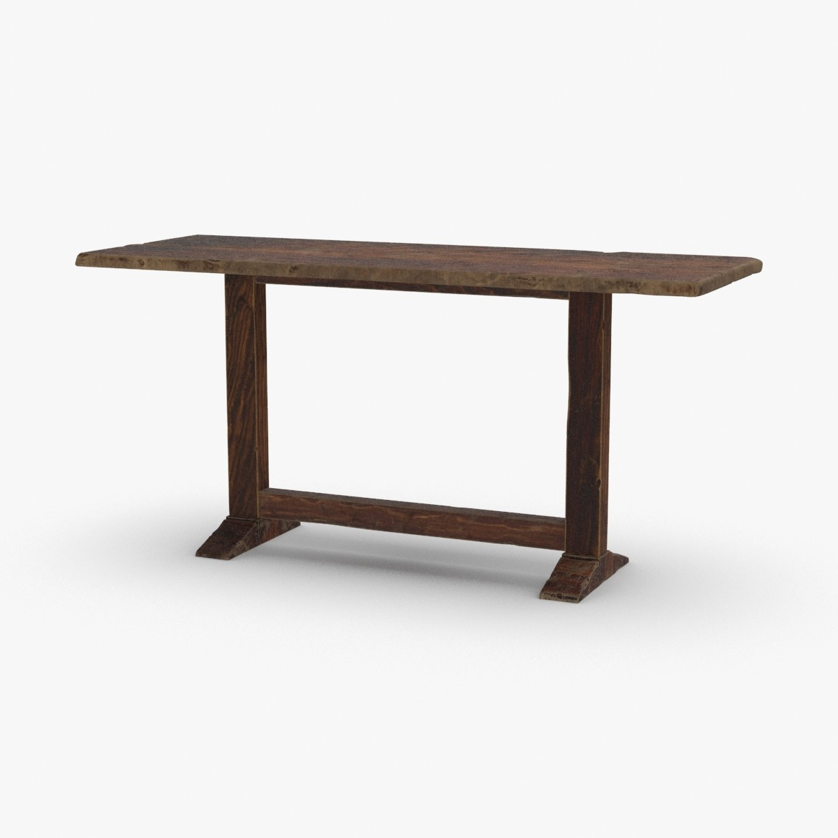 rustic-table model