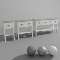 3D sideboard levi