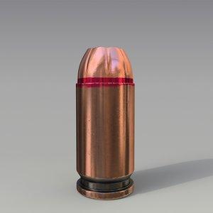 9x18mm cartridge expansive 3D model