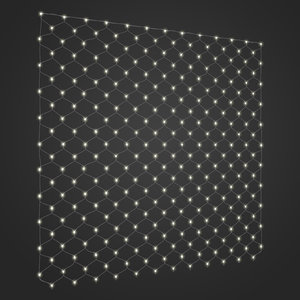 led curtain window light model