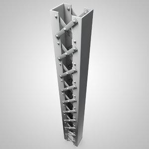 3D girders model