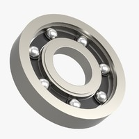 3D bearing objects retainer