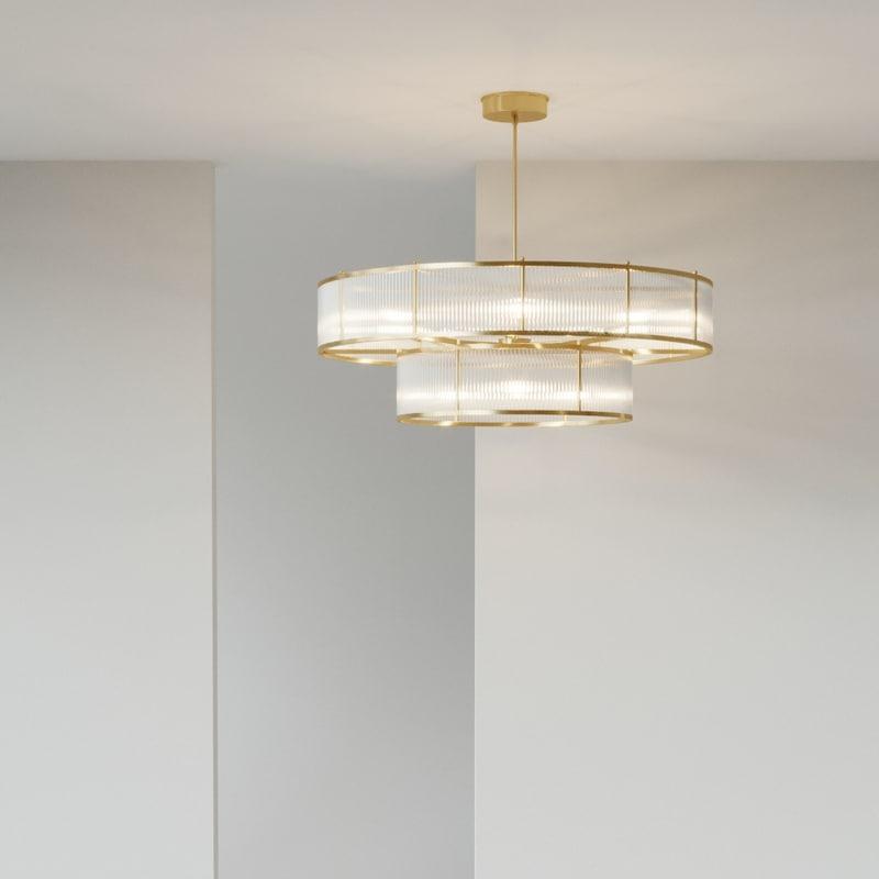 marais pendant lamp 3D model