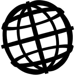 framed globe loaders 3D model