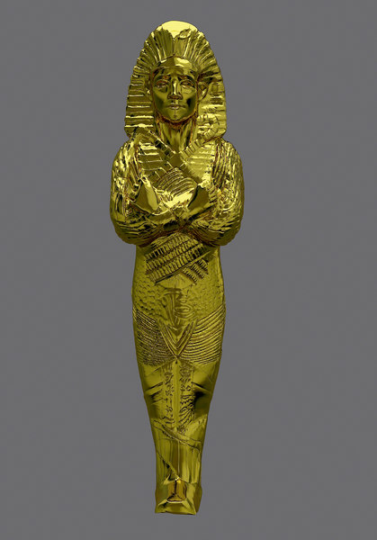 3D male pharaoh model