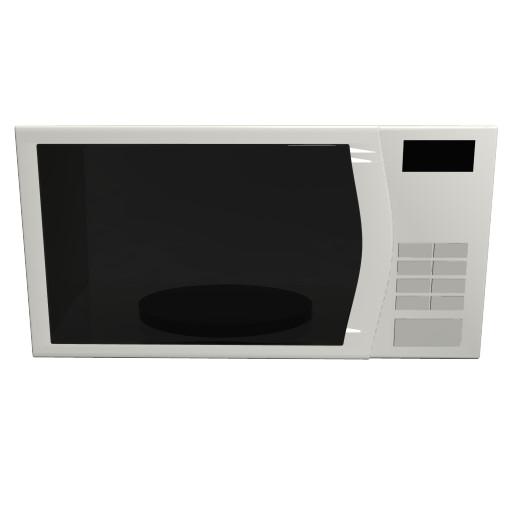 3D model microwave oven loaders