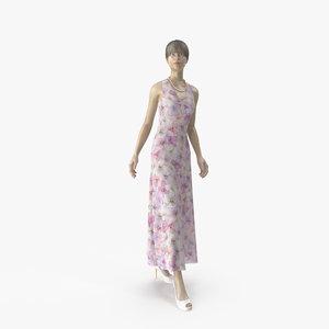 showroom mannequin 036 pose 3D