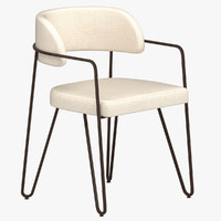 jacques quinet chair 3D model