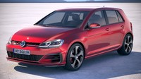 Volkswagen Golf GTI 2017 5-door