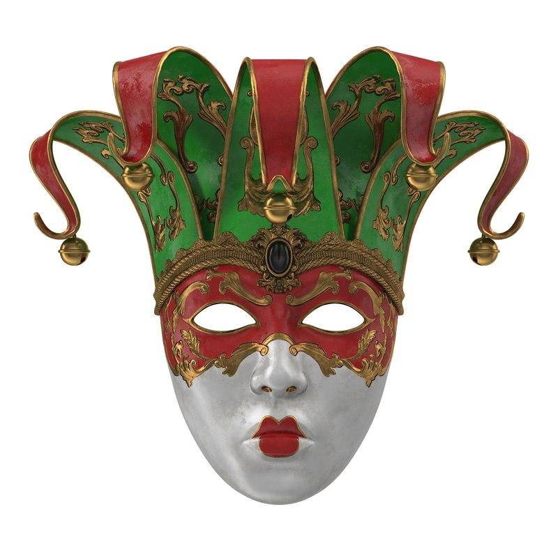 carnival mask v2 model