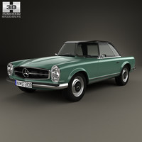 mercedes-benz sl-class sl 3D model