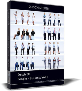 dosch people - business 3D model