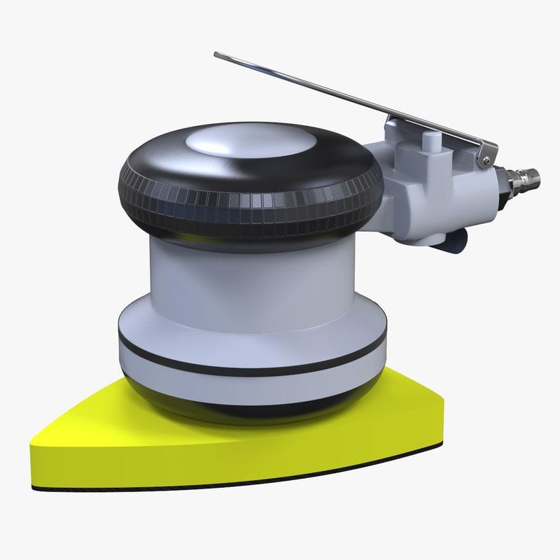 3D model orbital pneumatic air polisher