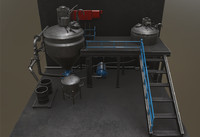 3D pharmaceutical machinery