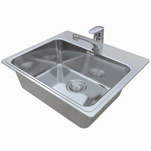 3D sink combo p50-60