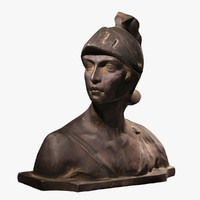 antique bust model