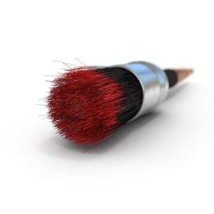 3D paint brush