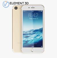 3D model apple iphone7