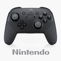 3D nintendo switch pro controller