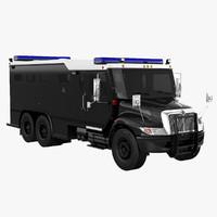 3D swat truck model