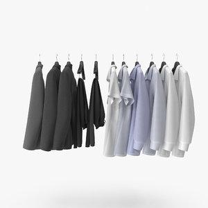 3D clothes hangers model