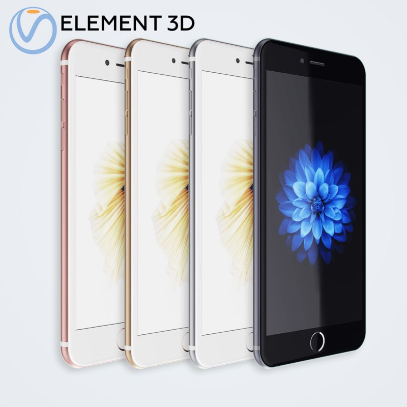 3D apple iphone6s
