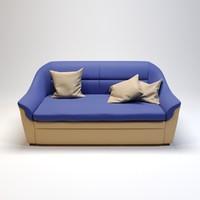 sofa galant-2 3D model
