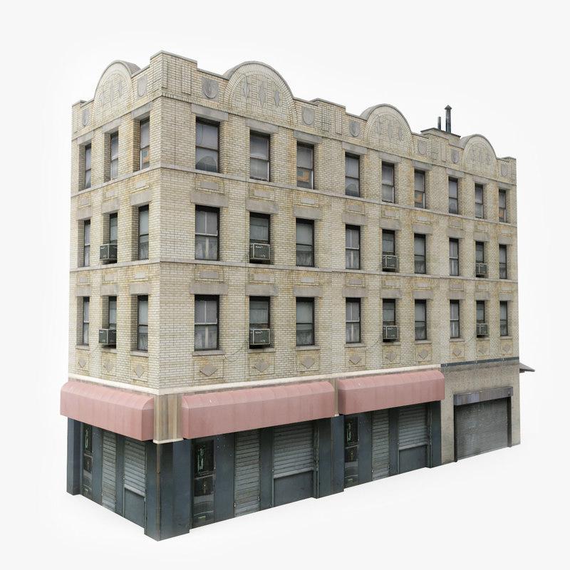 ready city building 3D model