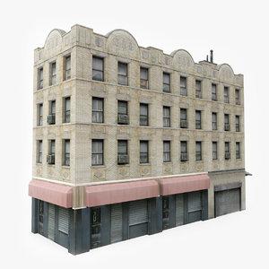 ready city building 3D model