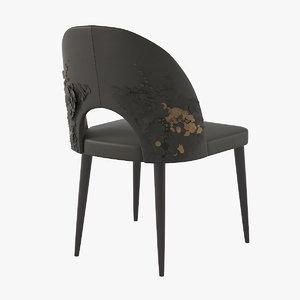 3D atelier du renard chaise