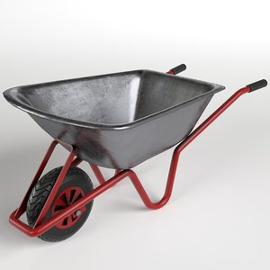 3D wheelbarrow 2