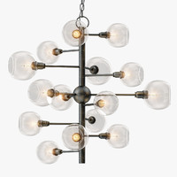 3D currey company panpoint chandelier