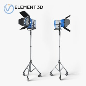 3D model arri m40